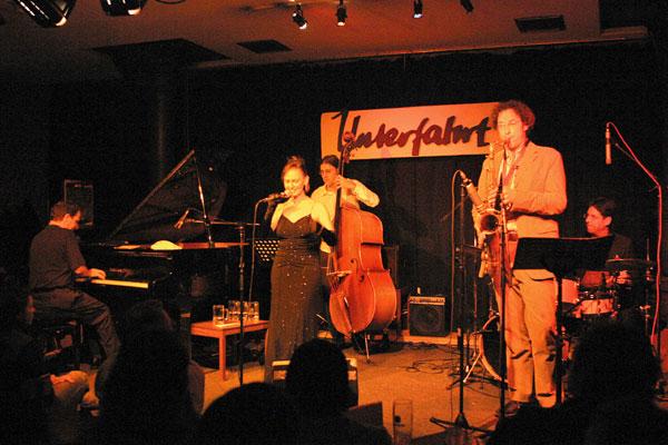 Barbara Roberts & Band live im Jazzclub Unterfahrt, Jazz, Swing, München