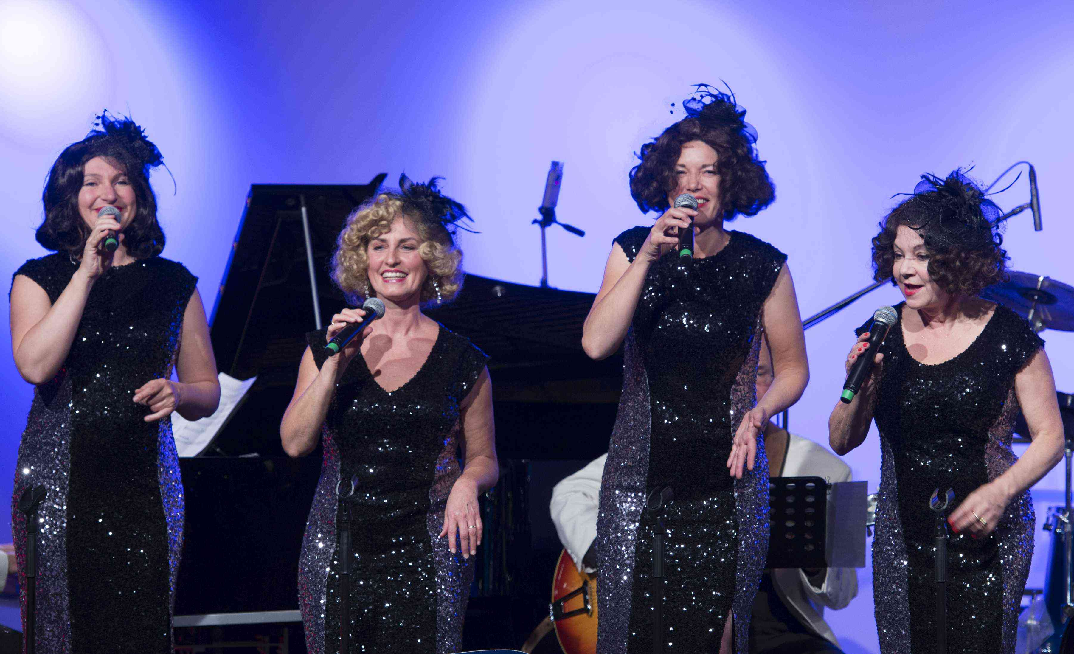 The Funny Valentines live, vocal jazz quartet, jazz, swing, music of the 30s, music of the 40s