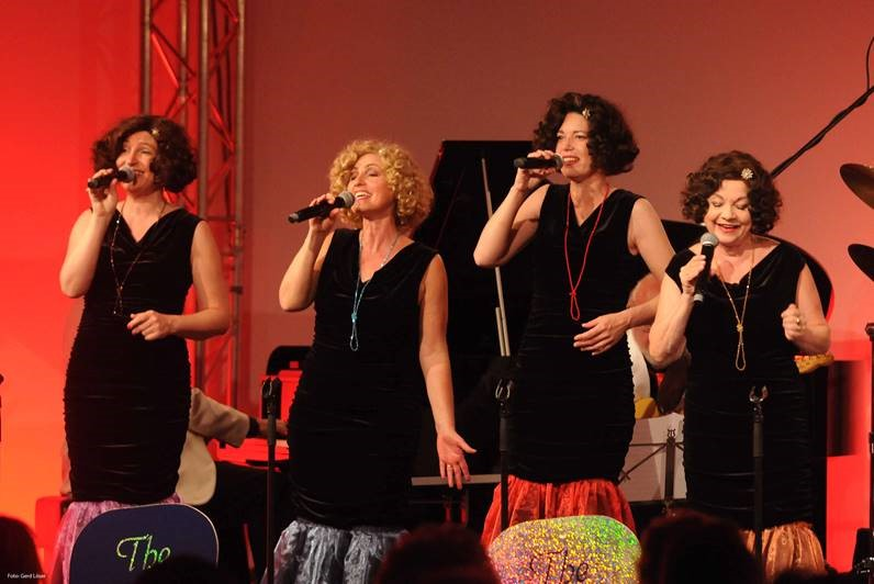The Funny Valentines live 2, vocal jazz quartet, jazz, swing, music of the 30s, music of the 40s