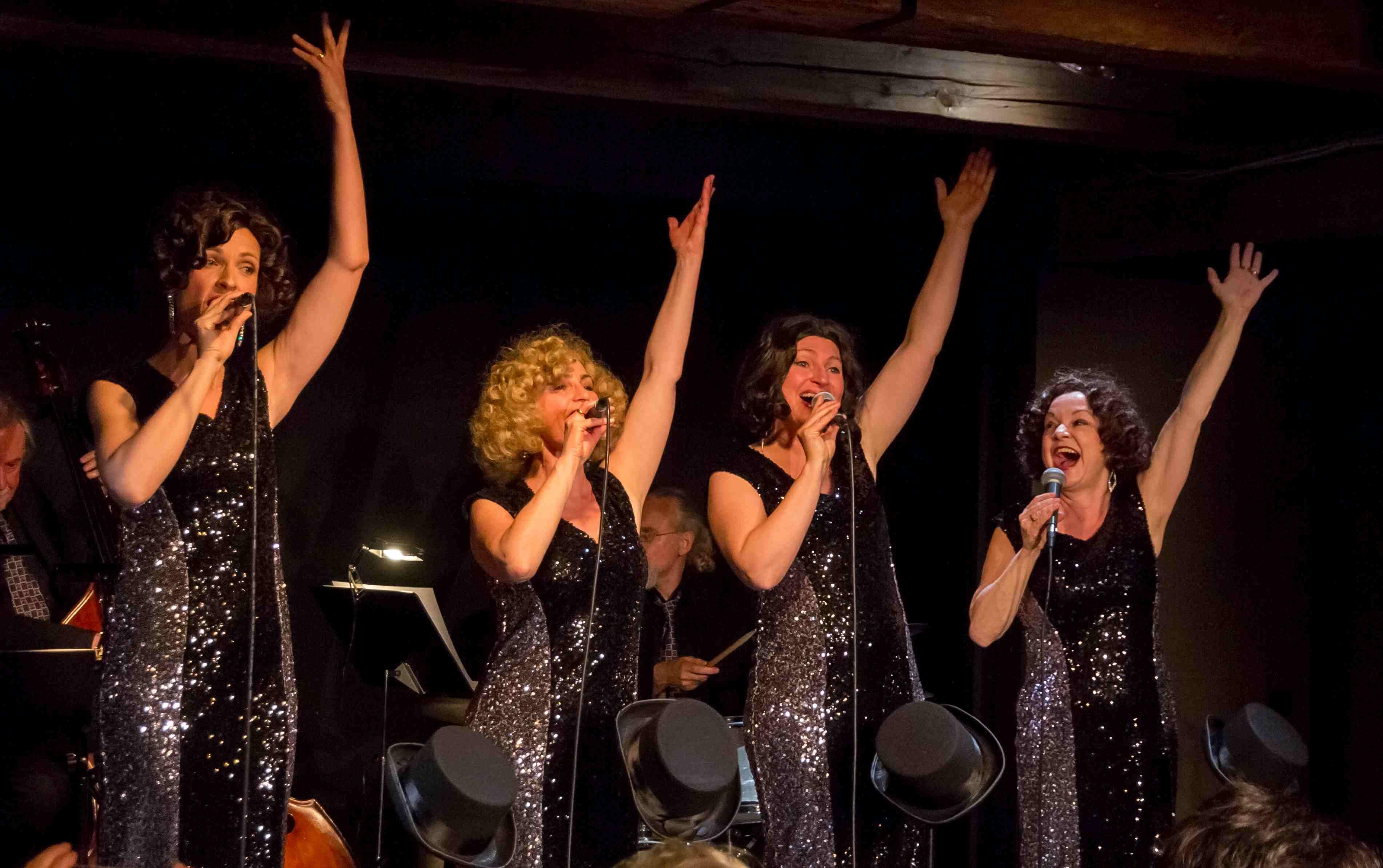 The Funny Valentines live 3, Vokalquartett, Swing, Jazz, Musik der 30er Jahre, Musik der 40er Jahre