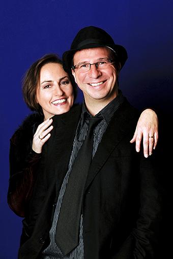 Barbara und Davide Roberts, Jazz